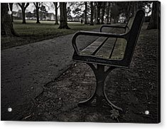 Acrylic Print featuring the photograph In The Park by Stewart Scott