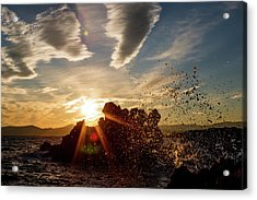 In The Right Spot Acrylic Print