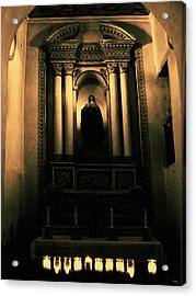 In The Sanctuary Acrylic Print by Glenn McCarthy Art and Photography