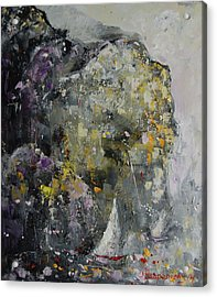 In The Shelter Of The Wind Acrylic Print by Sari Haapaniemi