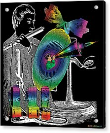 In The Spirit Of Communication Acrylic Print by Eric Edelman