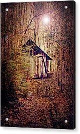 In The Sugar Bush Acrylic Print by Nancy  Coelho