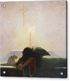 In The Tower Of London Acrylic Print by Newell Convers Wyeth