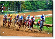 In The Turn #2 Acrylic Print