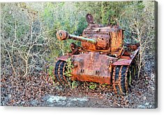 In The Woods Acrylic Print by JC Findley