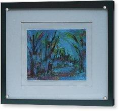 In The Woods Acrylic Print by Vivien Ferrari