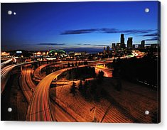 In To Emerald City C083 Acrylic Print by Yoshiki Nakamura