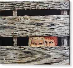 In Trouble Acrylic Print by Bob Hallmark