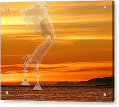 In Venus Veritas Acrylic Print by Viktor Savchenko