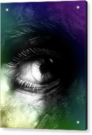 In Your Eyes Acrylic Print