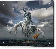 Inadvertent Metamorphosis Or King Of My Castle Acrylic Print