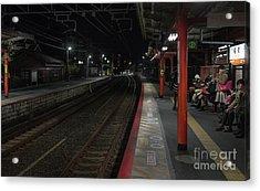 Inari Station, Kyoto Japan Acrylic Print