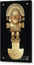 Incan Gold Ornament Acrylic Print by Granger