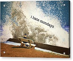 Incoming - Mondays Acrylic Print by Thomas Blood