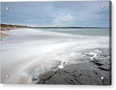 Incoming Tide Acrylic Print by Ann O Connell