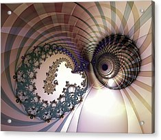 Incompatible Elements Acrylic Print by Casey Kotas