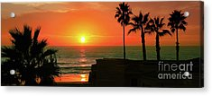 Incredible Sunset View Acrylic Print