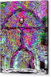 Indalo Joyas Acrylic Print by Melanie Bourne