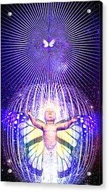 Indego Acrylic Print by Robby Donaghey