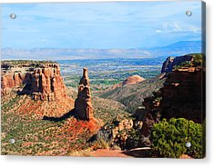 Independance Rock Acrylic Print by Deanne Smith