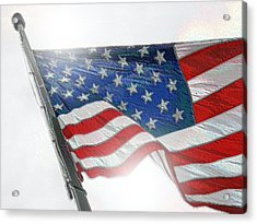 Independence Acrylic Print by Bill Noonan