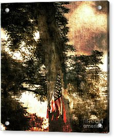 Independence Day Appalachia  Acrylic Print by Steven Digman