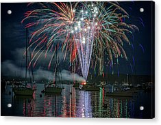 Independence Day In Maine Acrylic Print