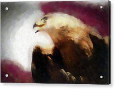 Independence Eagle Acrylic Print