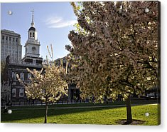 Independence Hall Acrylic Print