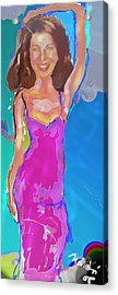 Independence Margot Acrylic Print by Noredin Morgan