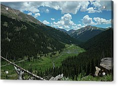 Independence Pass In Summer Acrylic Print