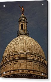 Independent Man II Acrylic Print by Lourry Legarde