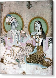 India: Couple Acrylic Print by Granger