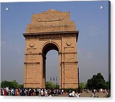 India Gate - New Delhi - India Acrylic Print