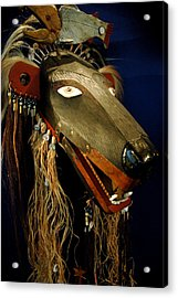 Indian Animal Mask Acrylic Print