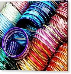 Indian Bangles Acrylic Print