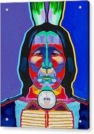 Indian By Nixo Acrylic Print
