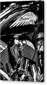 Indian Chieftain Acrylic Print