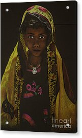 Indian Child Acrylic Print