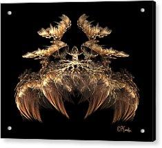 Indian Feather Headdress 5 Acrylic Print
