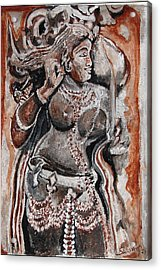 Indian Heratage-2 Acrylic Print by Anand Swaroop Manchiraju