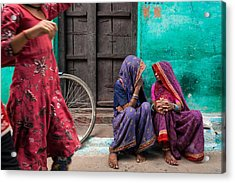 Indian Mood Acrylic Print