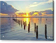 Indian River Sunrise Acrylic Print