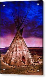 Indian Sculpture 2 Acrylic Print by Wendy White