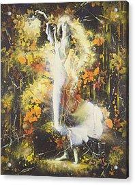 Indian Summer Acrylic Print by Andrej Vystropov