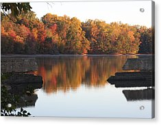 Acrylic Print featuring the photograph Indian Summer by Vadim Levin