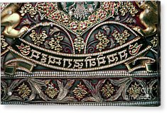 Acrylic Print featuring the photograph Indian Wall Hanging by Granger