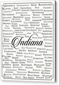 Indiana Acrylic Print