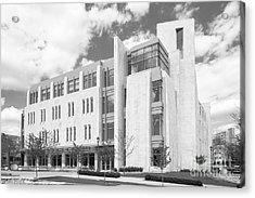 Indiana University East Studio Building Acrylic Print by University Icons