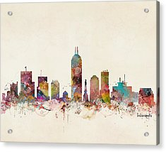 Indianapolis Indiana Acrylic Print